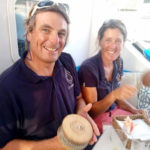 Cabin Charter Crew - Samantha Burrough and Neil Collier - from BlueFoot Travel