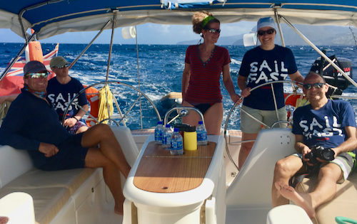 Fabulous Guests enjoying their time sailing around the Caribbean on Nemo