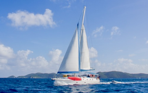 Cabin Charter Sailing Holiday in the Virgin Islands. Trip 12 – Sun 7 to Sunday 14 April 2019