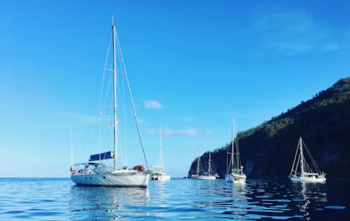 Yacht Charter in Guadeloupe, Marie-Galante & The Saints. Trip 15 – Sunday 5 to Sunday12 May 2019