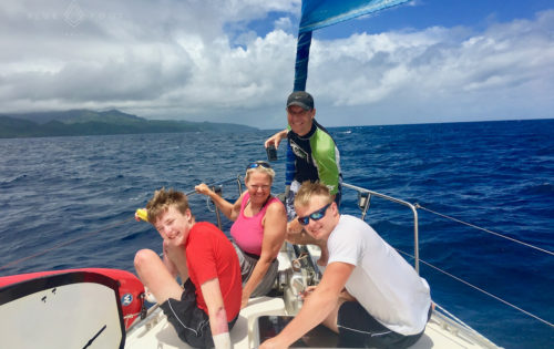 Sailing in Grenada and catching up with some dolphins
