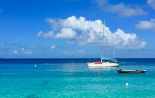 BlueFoot Travel's SY Nemo on a cabin charter sailing in the Grenadines 1800