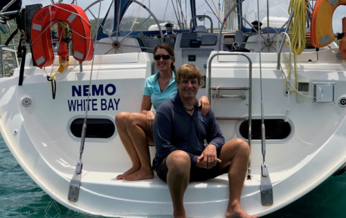 Crew Life. A Day in the Life of Neil and Sam on Charter on Nemo