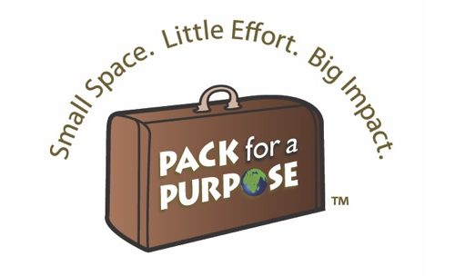 Pack For A Purpose Logo. Small Space. Little Effort. Big Impact