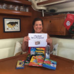 A BlueFoot Travel guest supporting the Pack for a Purpose initiative