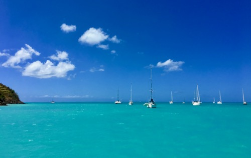 Blue Foot Travel Antigua to St Lucia Adventure sailing cabin charter - 500