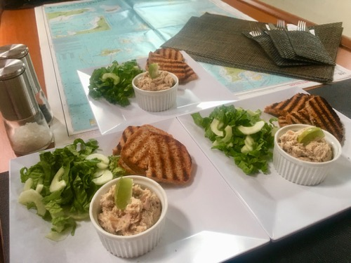 BlueFoot Travel Galley Cooking Smoked Fish Pate