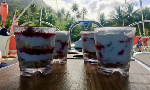 BlueFoot Travel Galley Cooking Paradise Parfaits