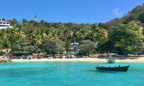 BlueFoot Travel St Vincent Sailing Itinerary Guide - Day Two - Sailing to Mustique