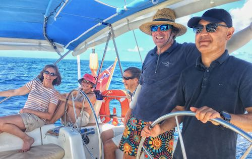 Helm Like a Skipper with BlueFoot Travel - Experienced