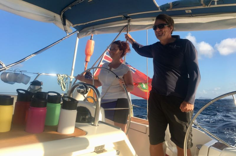 NauticEd & BlueFoot Travel Yacht Charter Crew Course - Helming