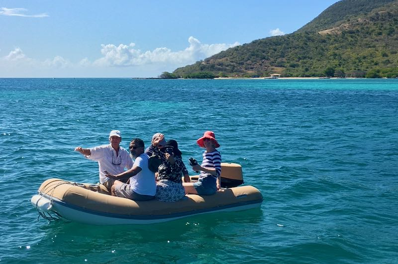 NauticEd & BlueFoot Travel Yacht Charter Crew Course - Using A Dinghy