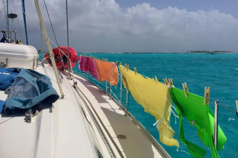 NauticEd & BlueFoot Travel Yacht Charter Crew Course - Pegging Clothing