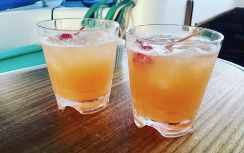 BlueFoot Travel Sailing Blog - Rum Old Fashioned Recipe Featured Image