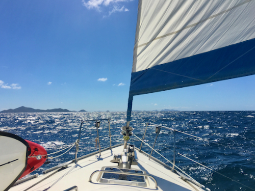 Caribbean Yacht Charters in Covid Times - Out sailing in the Grenadines