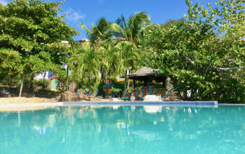 7 Steps for Travelling in COVID Times.The main pool at True Blue Bay Resort Feature