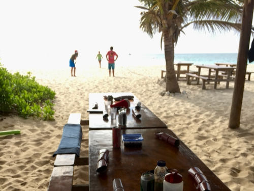 Christmas Day Fun and Frolics at Sandy Island in Anguilla