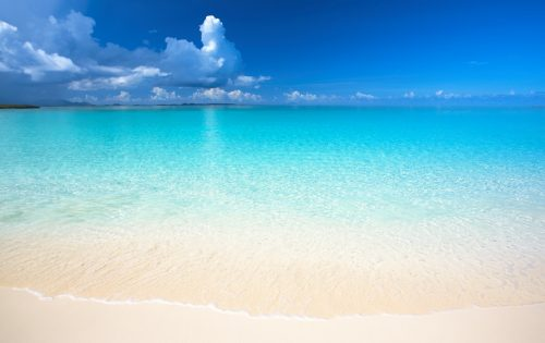 A beach in Anguilla in the Caribbean