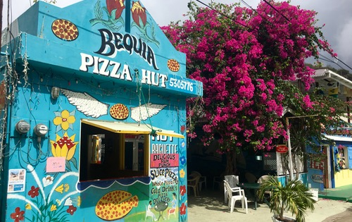 Pizza Hut Bequia Style!
