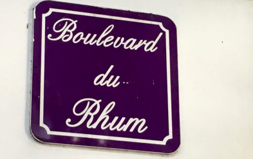 Boulevard du Rhum at the Depaz Distillery