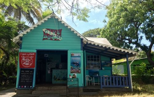The Dive shop on Bequia, St Vincent & The Grenadines
