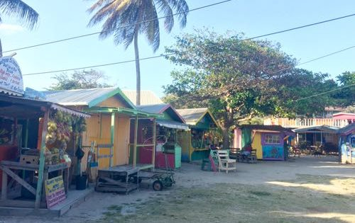 The market square in Union Island, The Grenadines