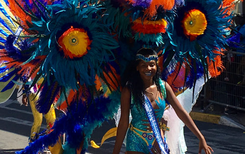 Carnival in St Martin. Fabulous Costumes.